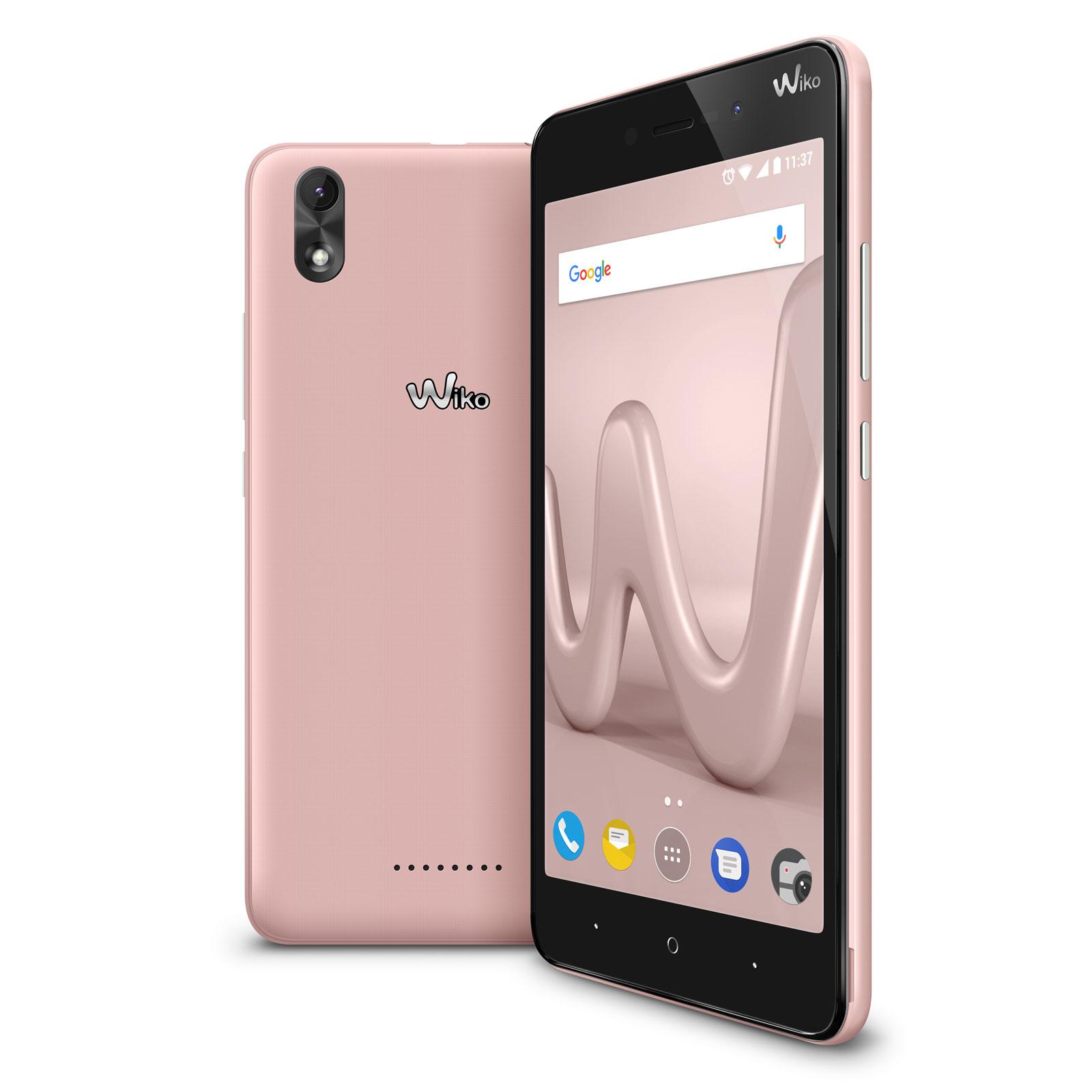 wiko lenny 4 plus or rose mobile smartphone wiko sur. Black Bedroom Furniture Sets. Home Design Ideas