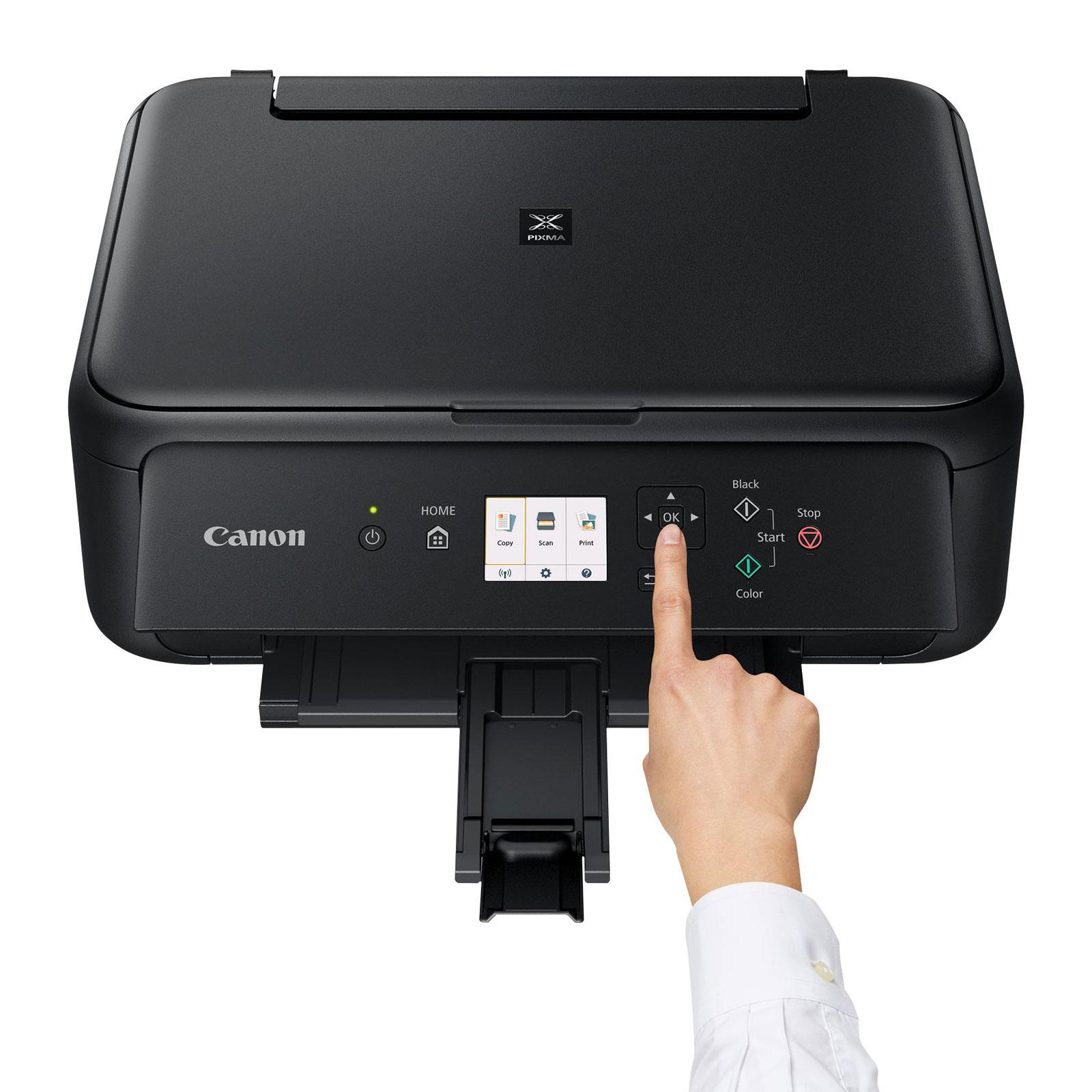 canon pixma ts5150 noir imprimante multifonction canon sur. Black Bedroom Furniture Sets. Home Design Ideas