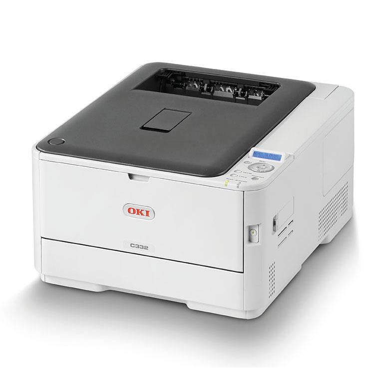 Imprimante laser Oki C332dn Imprimante LED couleur (USB 2.0/Gigabit Ethernet)
