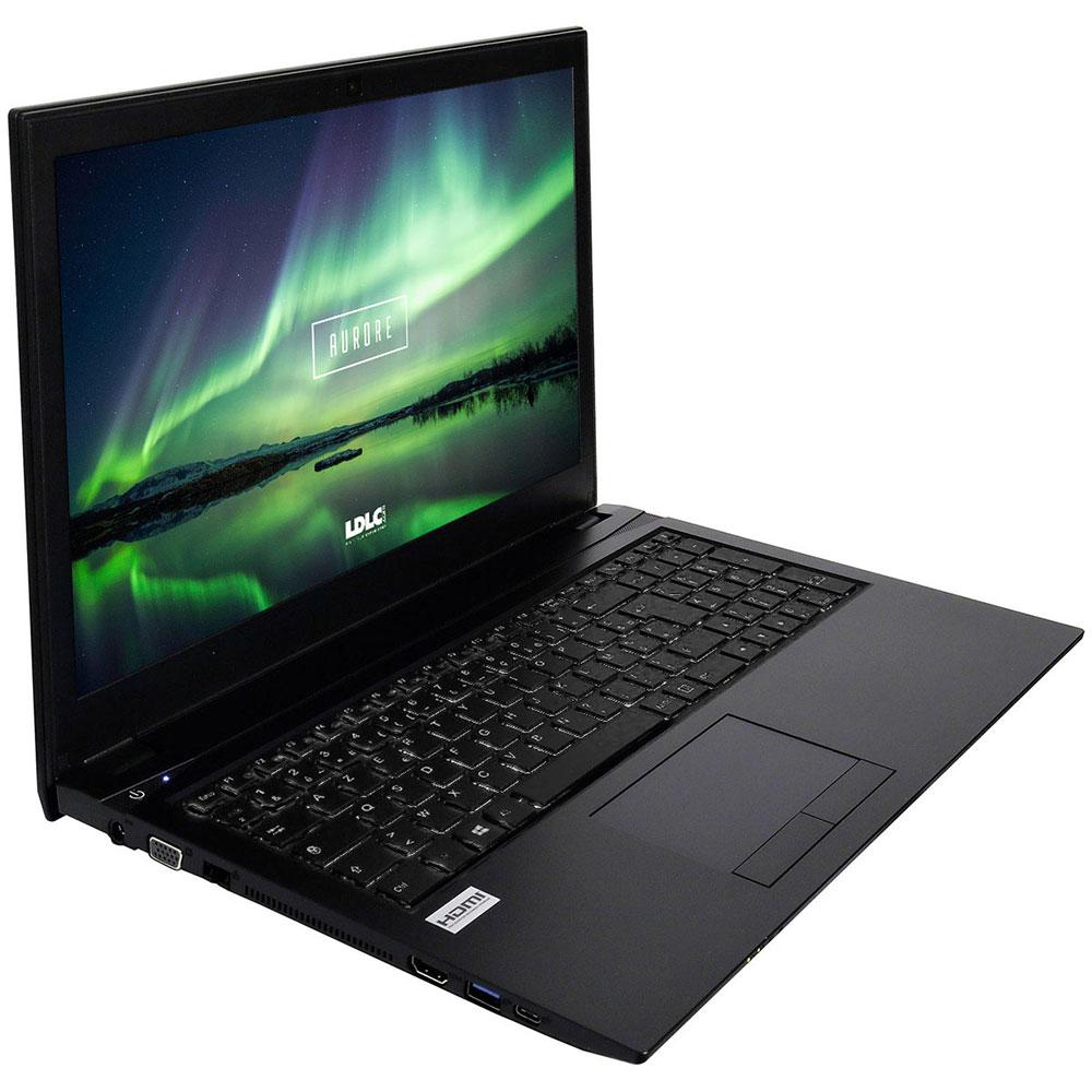 "PC portable LDLC Aurore KZ3-4-S2 Intel Core i3-7100U 4 Go SSD 240 Go 15.6"" LED HD Graveur DVD Wi-Fi AC/Bluetooth Webcam (sans OS)"