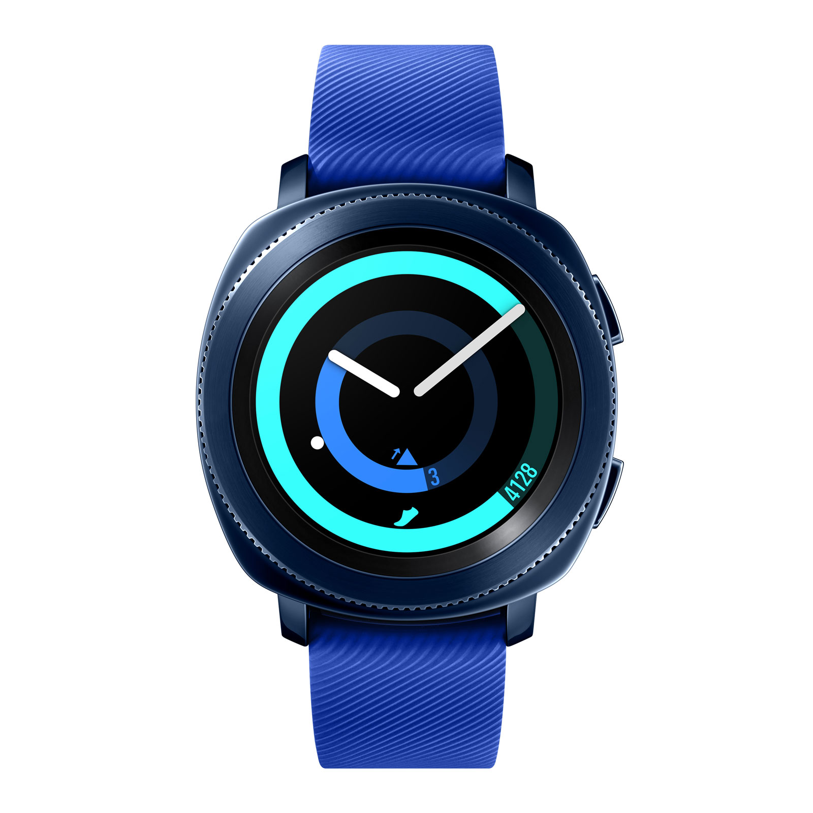 samsung gear sport bleu nuit montre connect e samsung sur. Black Bedroom Furniture Sets. Home Design Ideas
