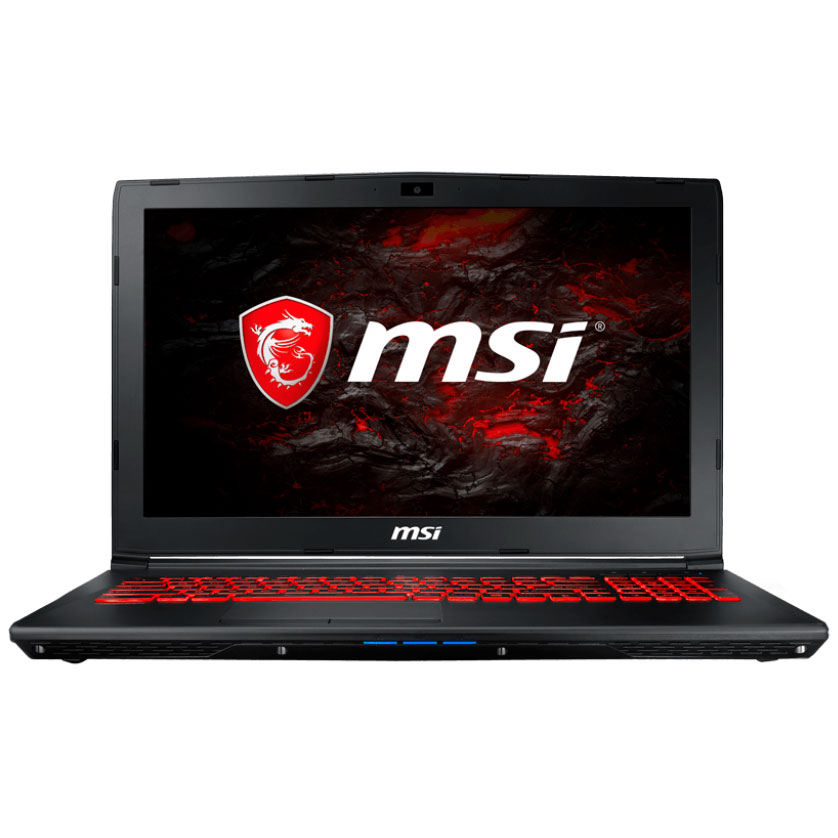"PC portable MSI GL62VR 7RFX-867FR Intel Core i5-7300HQ 8 Go SSD 256 Go + HDD 1 To 15.6"" LED Full HD NVIDIA GeForce GTX 1060 3 Go Wi-Fi AC/Bluetooth Webcam Windows 10 Famille 64 bits (garantie constructeur 2 ans)"