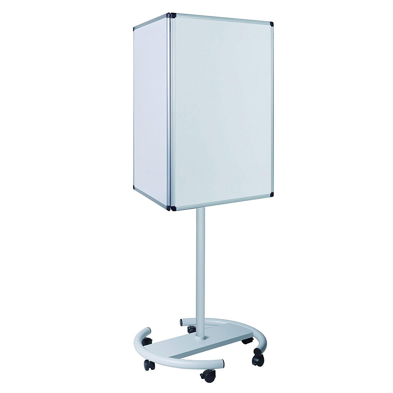 bi office panneau d 39 information mobile 640 x 1850 mm tableau blanc et paperboard bi office sur. Black Bedroom Furniture Sets. Home Design Ideas