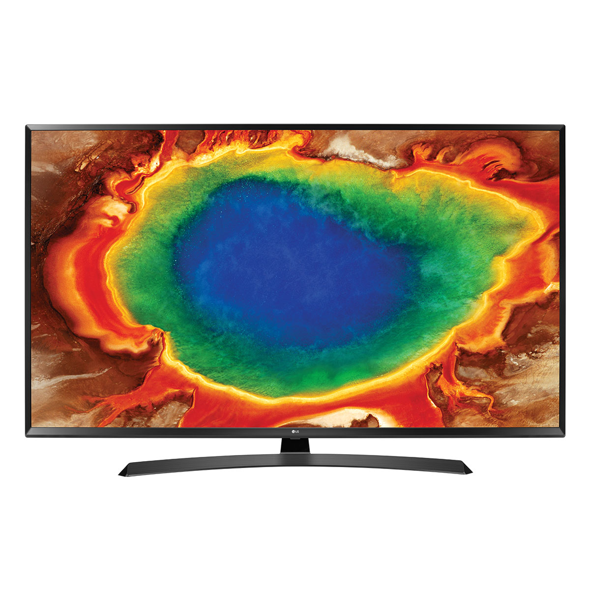 "TV LG 55UJ635V Téléviseur LED 4K 55"" (140 cm) 16/9 - 3840 x 2160 pixels - TNT, Câble et Satellite HD - Ultra HD 2160p - HDR - 1600 Hz - Wi-Fi - Bluetooth - DLNA"