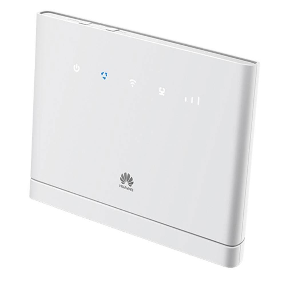 Modem & routeur Huawei B315S-22 Blanc Routeur 4G WiFi N 150Mbps avec 4 ports Gigabit