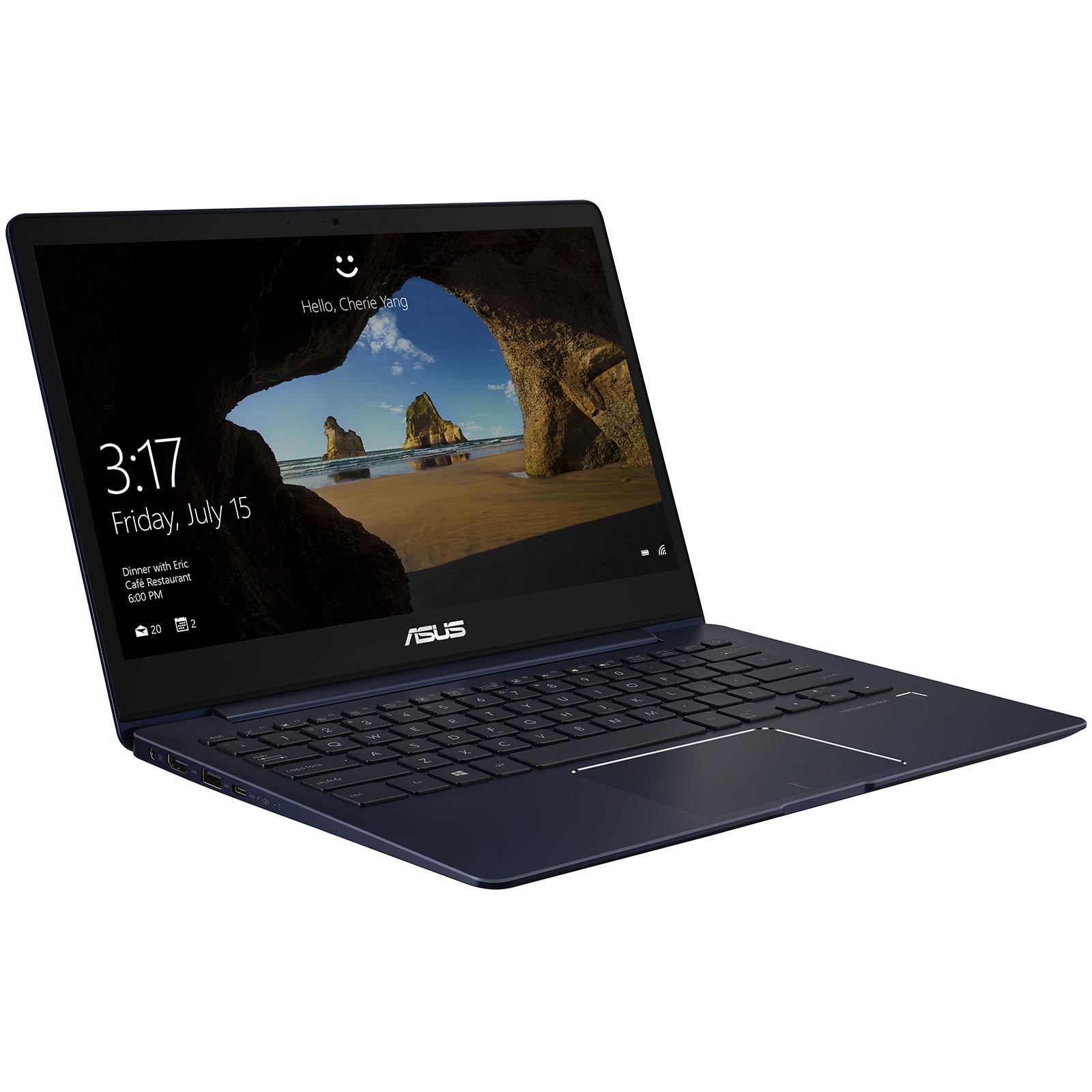 "PC portable ASUS Zenbook 13 UX331UA-EG007T Intel Core i5-8250U 8 Go SSD 512 Go 13.3"" LED Full HD Wi-Fi AC/Bluetooth Webcam Windows 10 Famille 64 bits (garantie constructeur 2 ans)"
