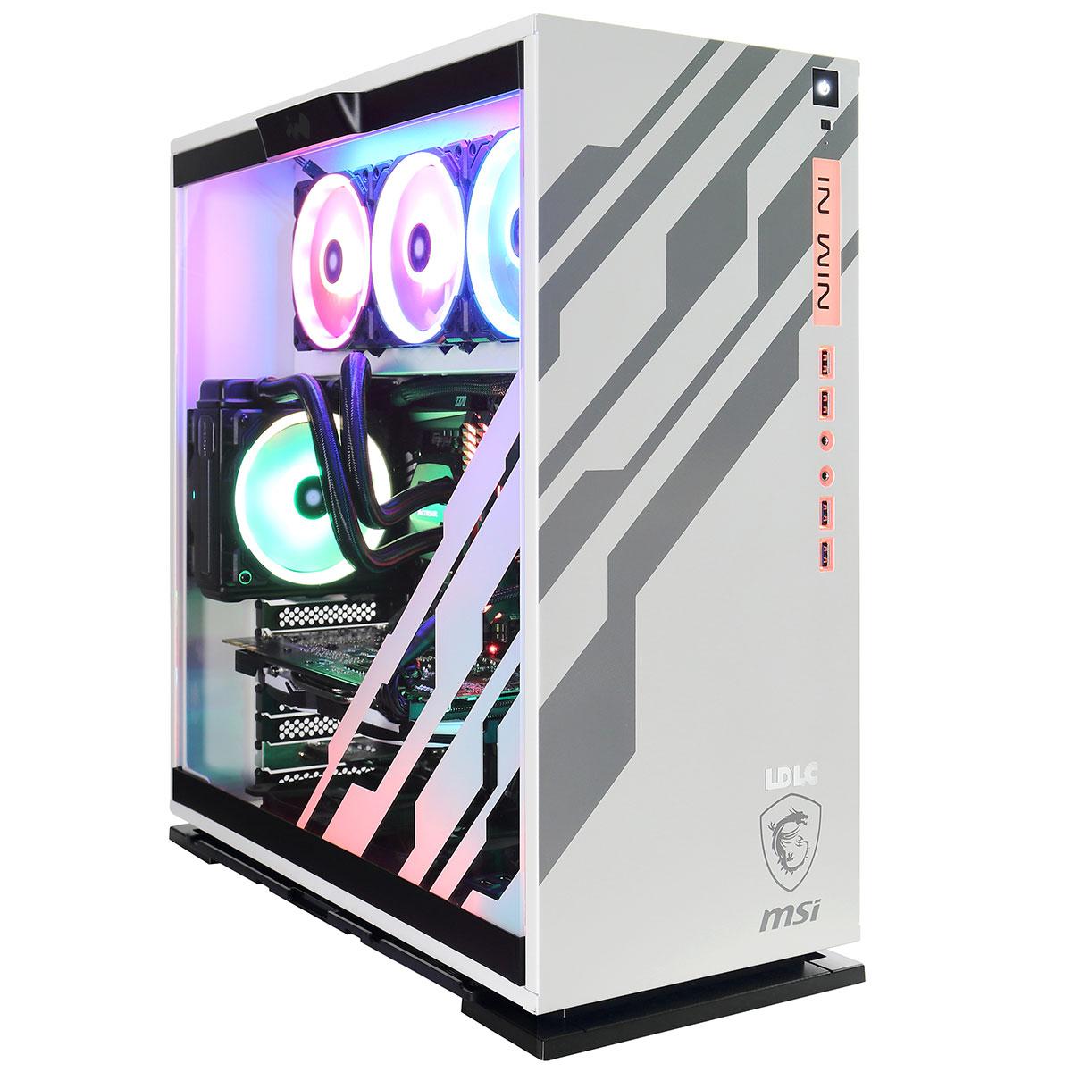 PC de bureau LDLC PC10 Coffee Macchiato RGB Intel Core i7-9700K (3.6 GHz) 16 Go SSD NVMe 240 Go + HDD 2 To NVIDIA GeForce RTX 2080 8 Go Windows 10 Famille 64 bits (monté)