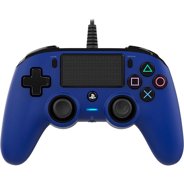 nacon gaming compact controller bleu accessoires ps4. Black Bedroom Furniture Sets. Home Design Ideas