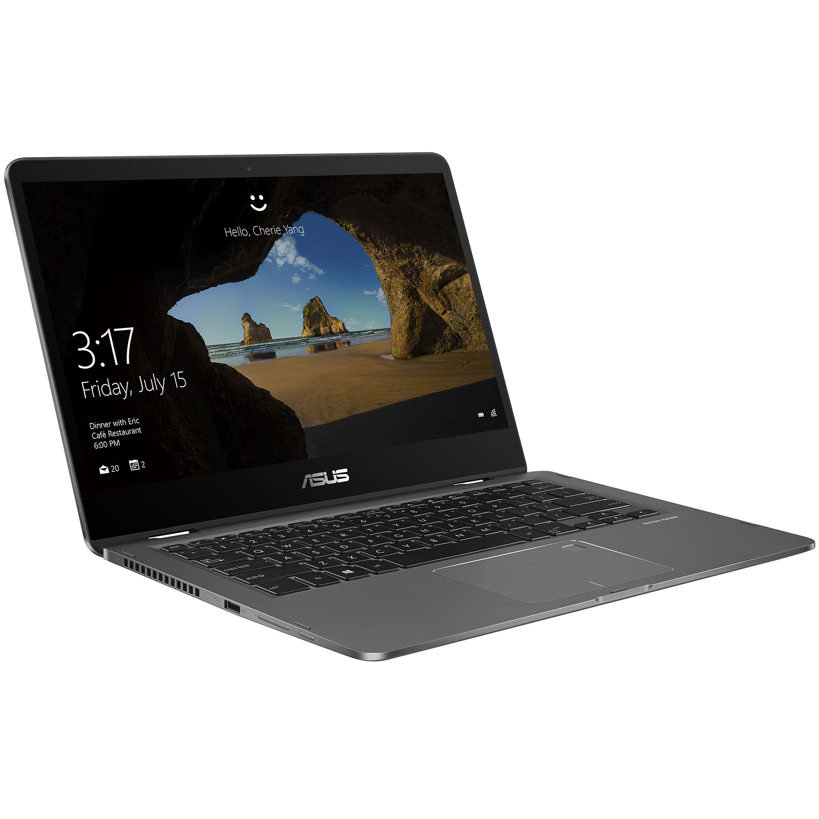 asus zenbook flip 14 ux461ua e1017r pc portable asus sur. Black Bedroom Furniture Sets. Home Design Ideas
