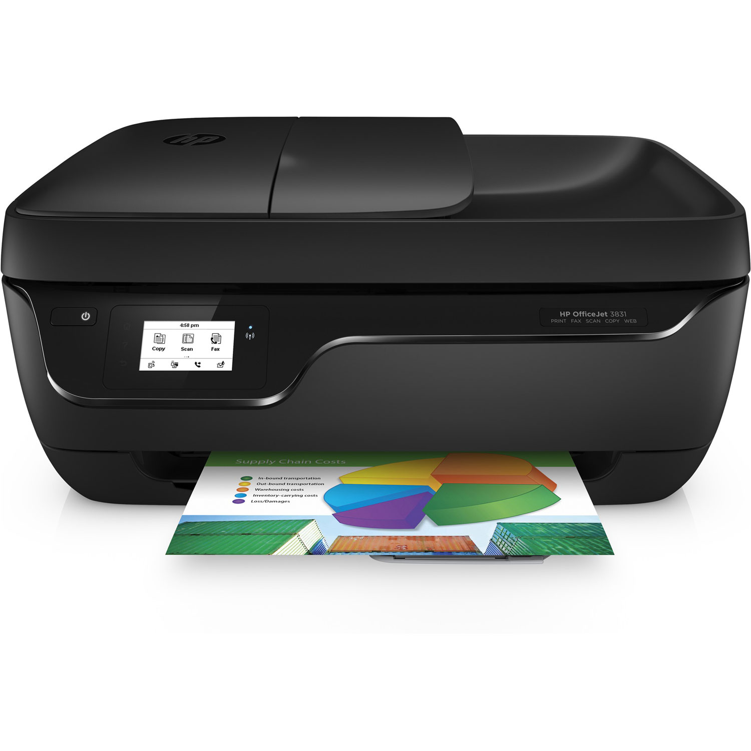 hp officejet 3831 imprimante multifonction hp sur. Black Bedroom Furniture Sets. Home Design Ideas