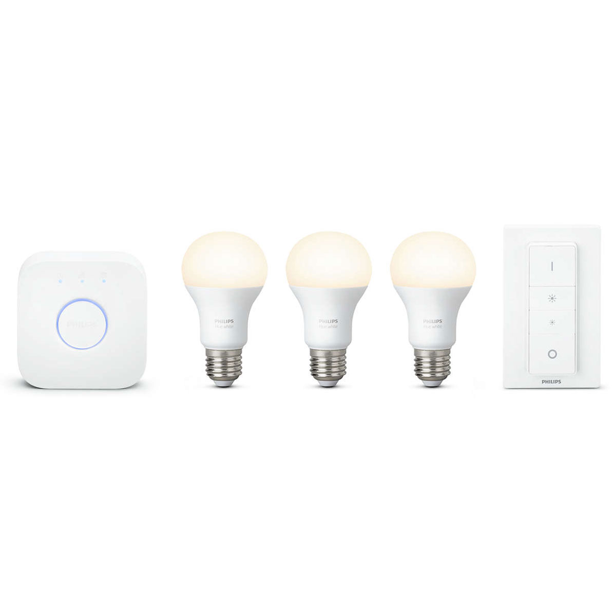 philips hue white kit de d marrage e27 interrupteur ampoule connect e philips sur. Black Bedroom Furniture Sets. Home Design Ideas