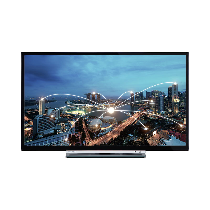 "TV Toshiba 32L3763DG Téléviseur LED Full HD 32"" (81 cm) 16/9 - 1920 x 1080 pixels - HDTV 1080p - Wi-Fi - Bluetooth - 700 Hz"
