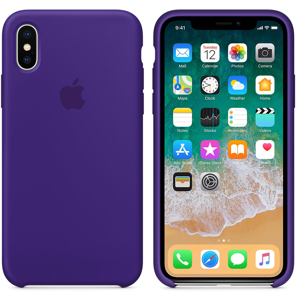coque violette iphone x