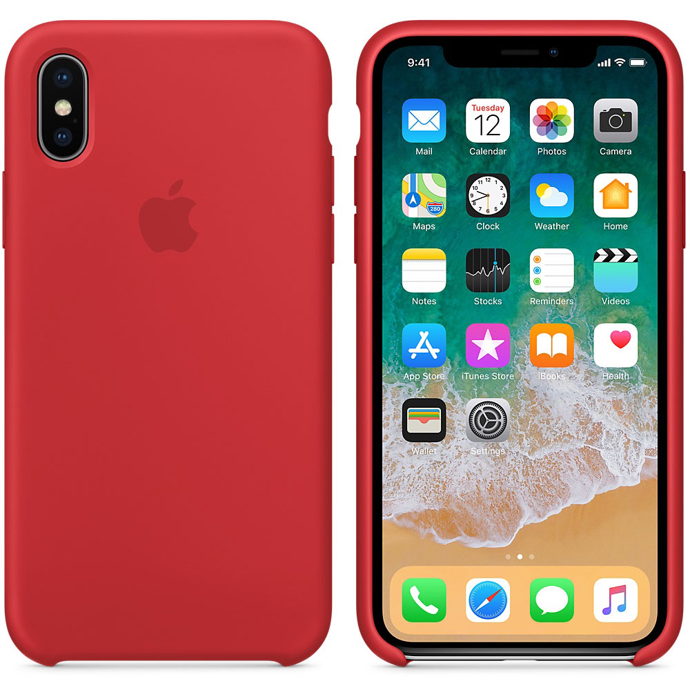 apple iphone x coque en silicone