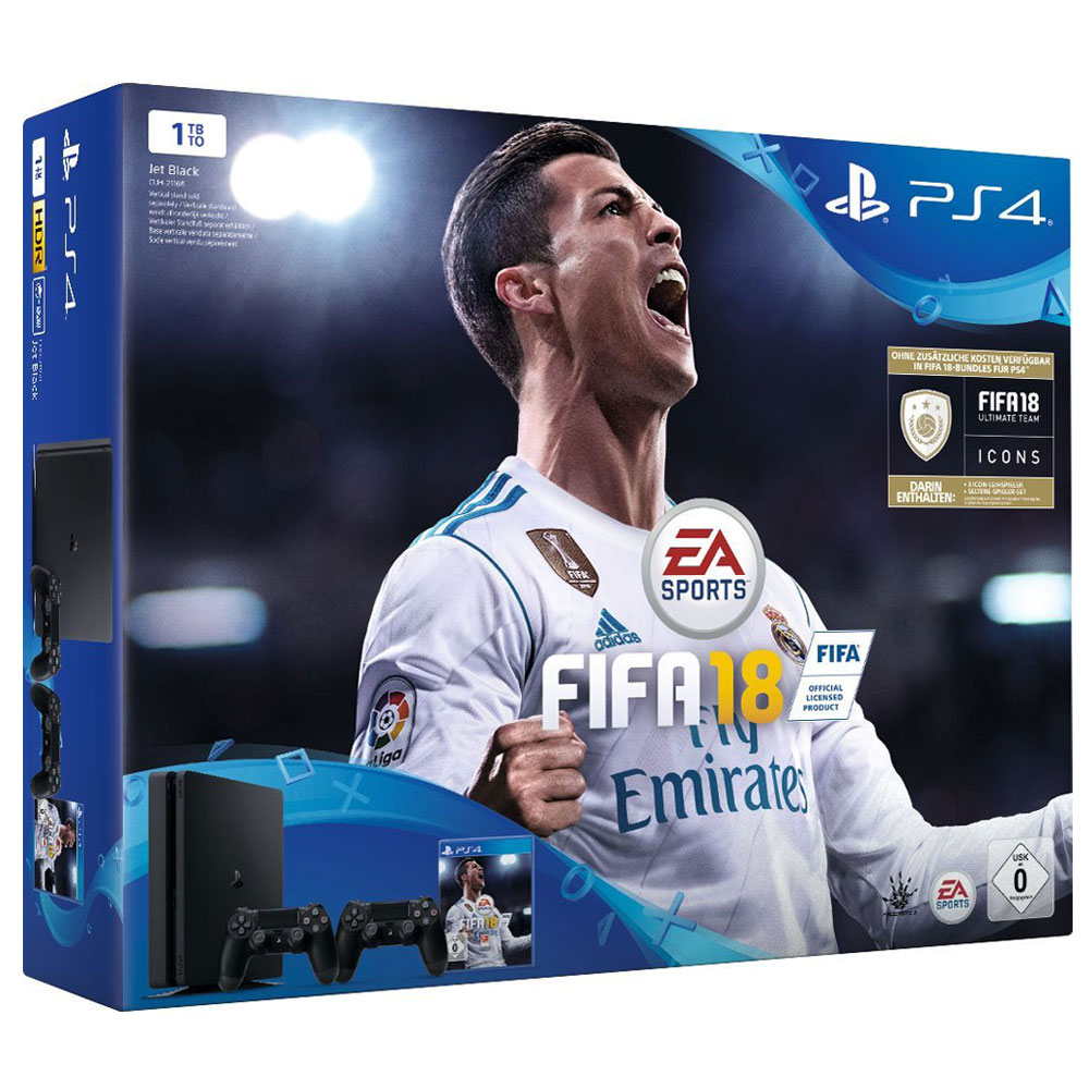 sony playstation 4 slim 1 to fifa 18 2 dualshock console ps4 sony interactive