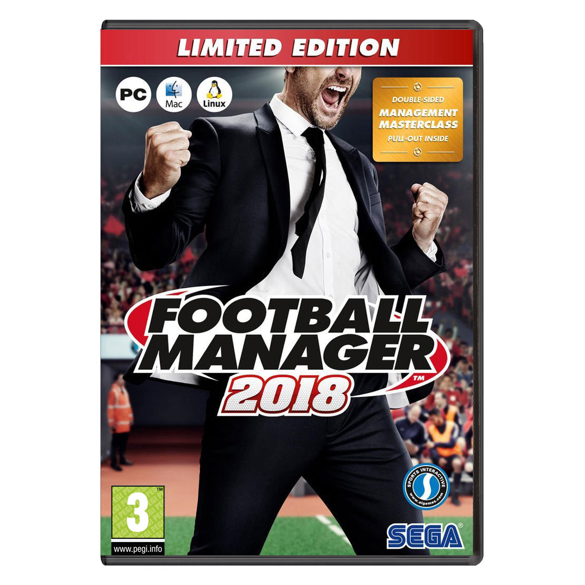 football manager 2018 edition limit e pc jeux pc sports interactive ltd sur. Black Bedroom Furniture Sets. Home Design Ideas