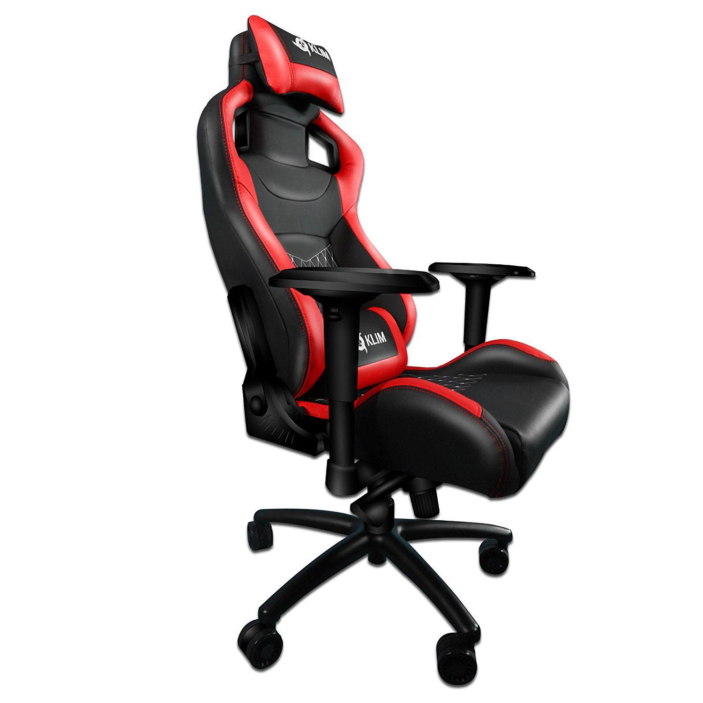 Klim 1st rouge fauteuil gamer klim sur for Chaise klim