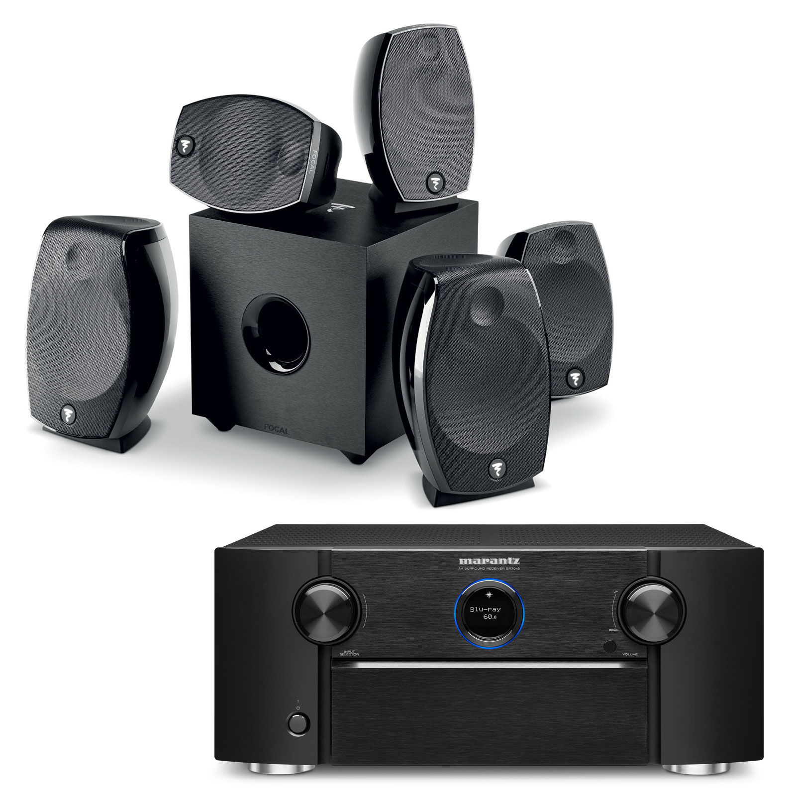 Home cinema 2 subwoofer