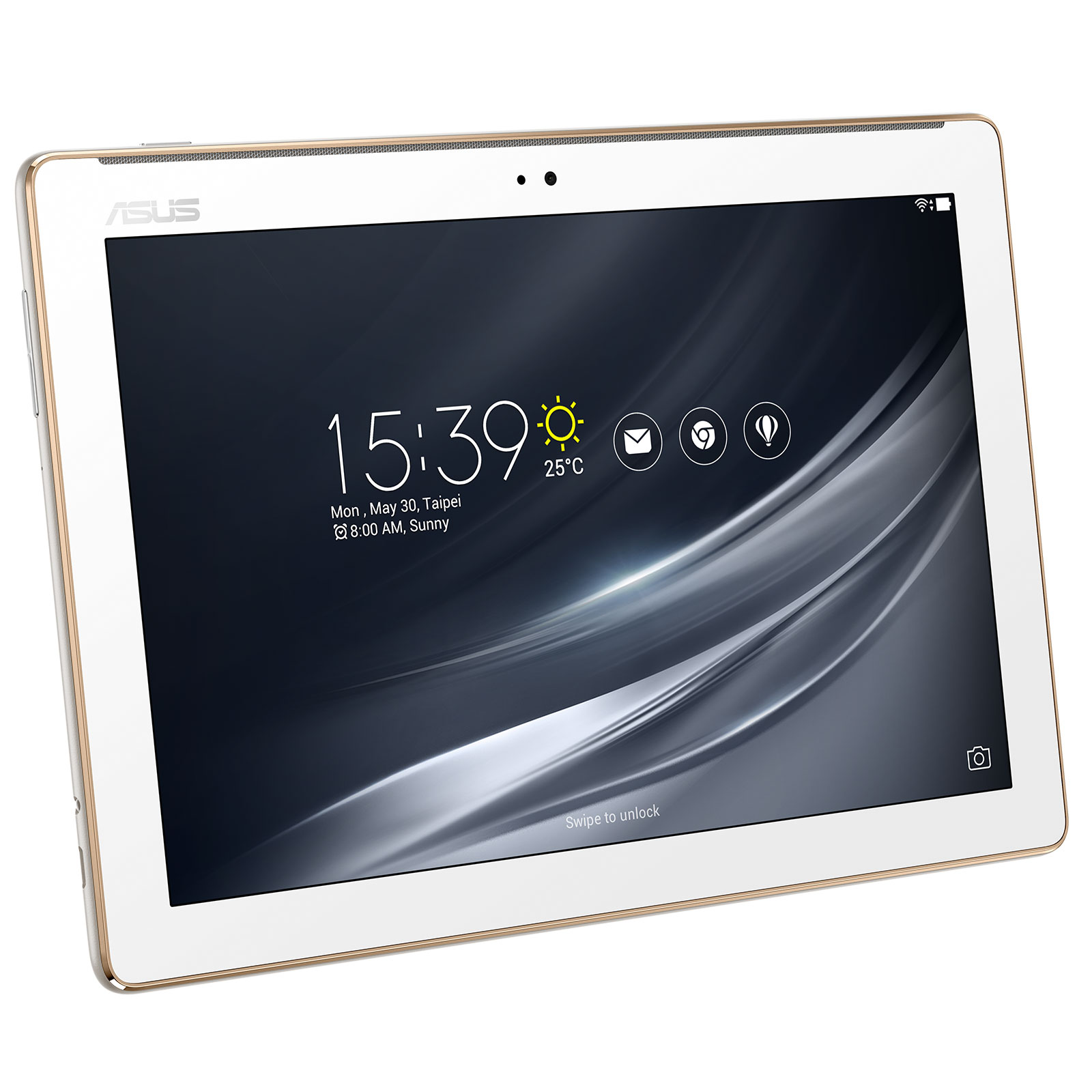 asus zenpad 10 z301m 1b008a blanc tablette tactile asus sur. Black Bedroom Furniture Sets. Home Design Ideas