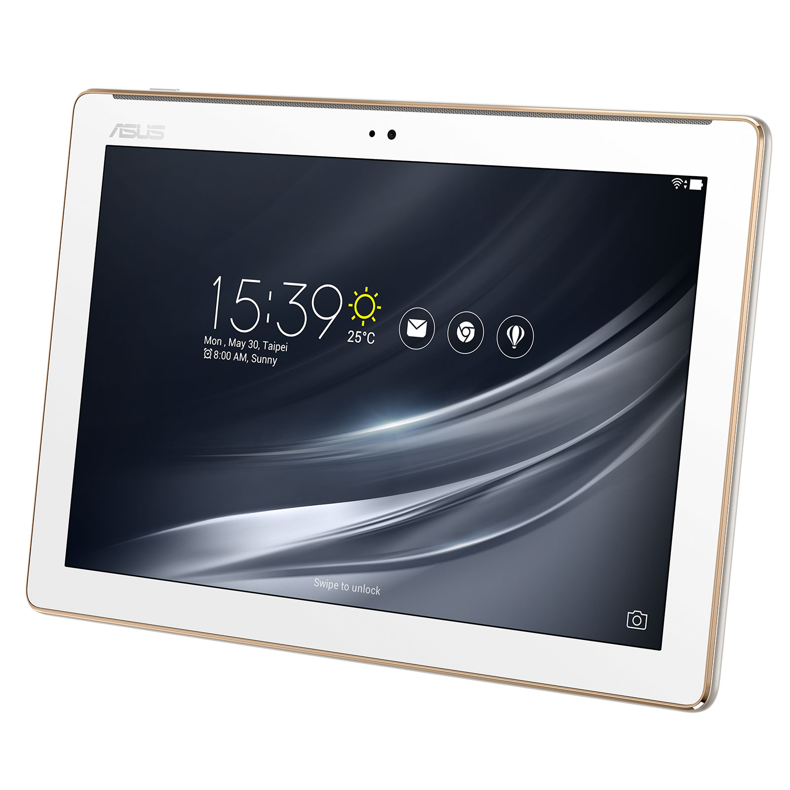 asus zenpad 10 z301m 1b008a blanc tablette tactile asus. Black Bedroom Furniture Sets. Home Design Ideas