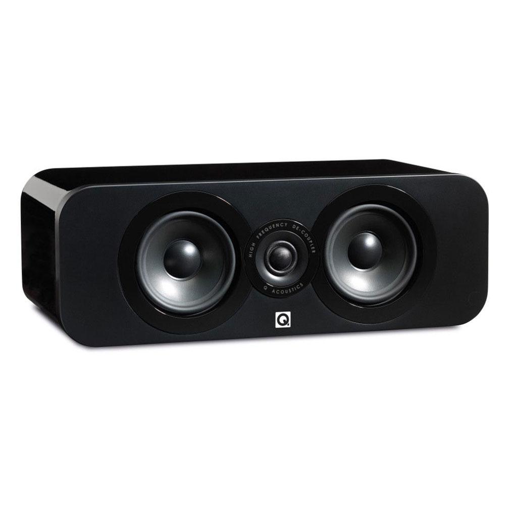 q acoustics 3090c noir laqu enceintes hifi q acoustics sur. Black Bedroom Furniture Sets. Home Design Ideas