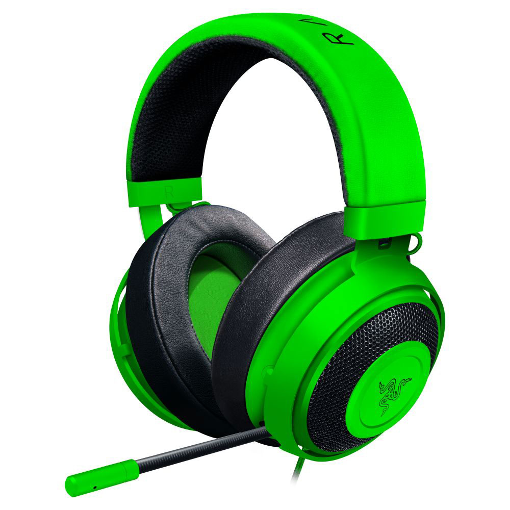 razer kraken pro v2 oval vert micro casque razer sur. Black Bedroom Furniture Sets. Home Design Ideas