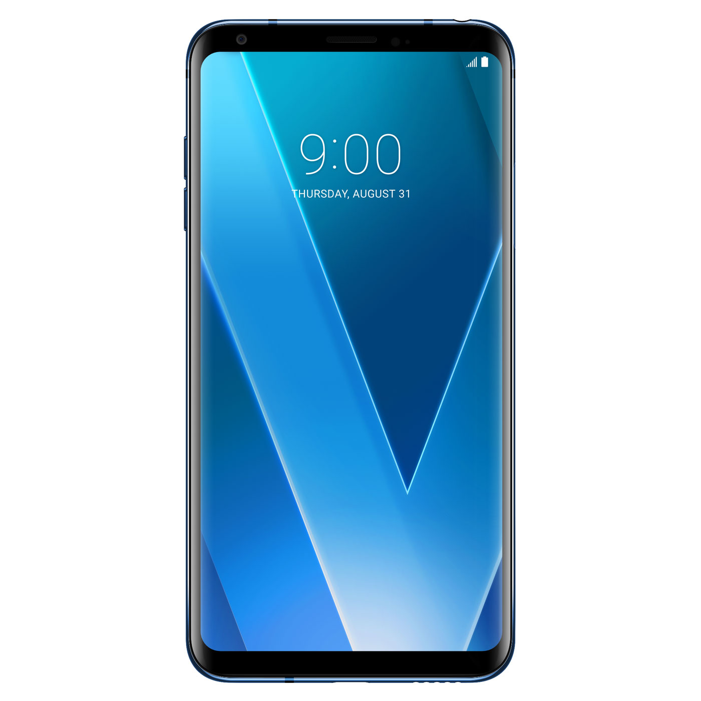 "Mobile & smartphone LG V30 Bleu Smartphone 4G-LTE IP68 - Snapdragon 835 8-Core 2.45 GHz - RAM 4 Go - Ecran tactile 6"" OLED 1440 x 2880 - 64 Go - NFC/Bluetooth 5.0 - 3300 mAh - Android 7.1.2"
