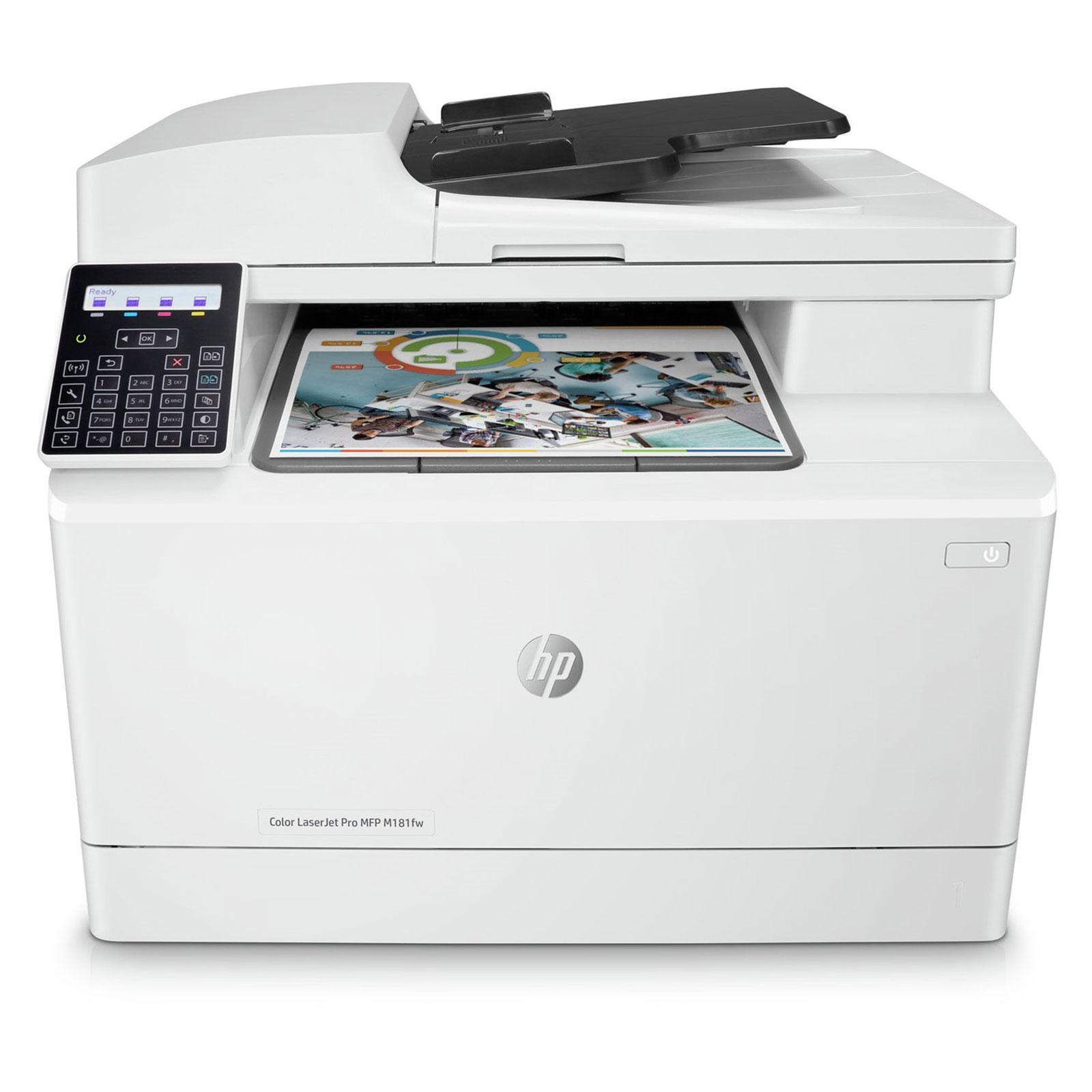 Hp Color Laserjet Pro Mfp M181fw Imprimante