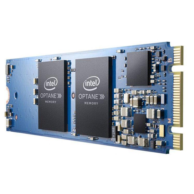 Disque SSD Intel Optane 16 Go M.2 NVMe Mémoire cache système au format M.2 2280 NVMe PCIe 3.0 x2