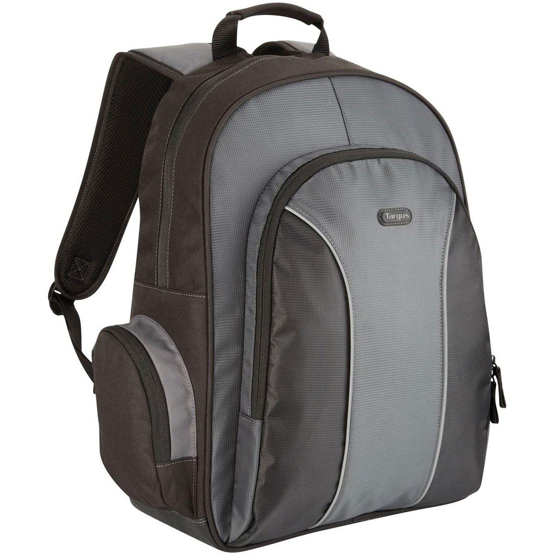 targus essential backpack 15 4 16 noir gris sac sacoche housse targus sur. Black Bedroom Furniture Sets. Home Design Ideas