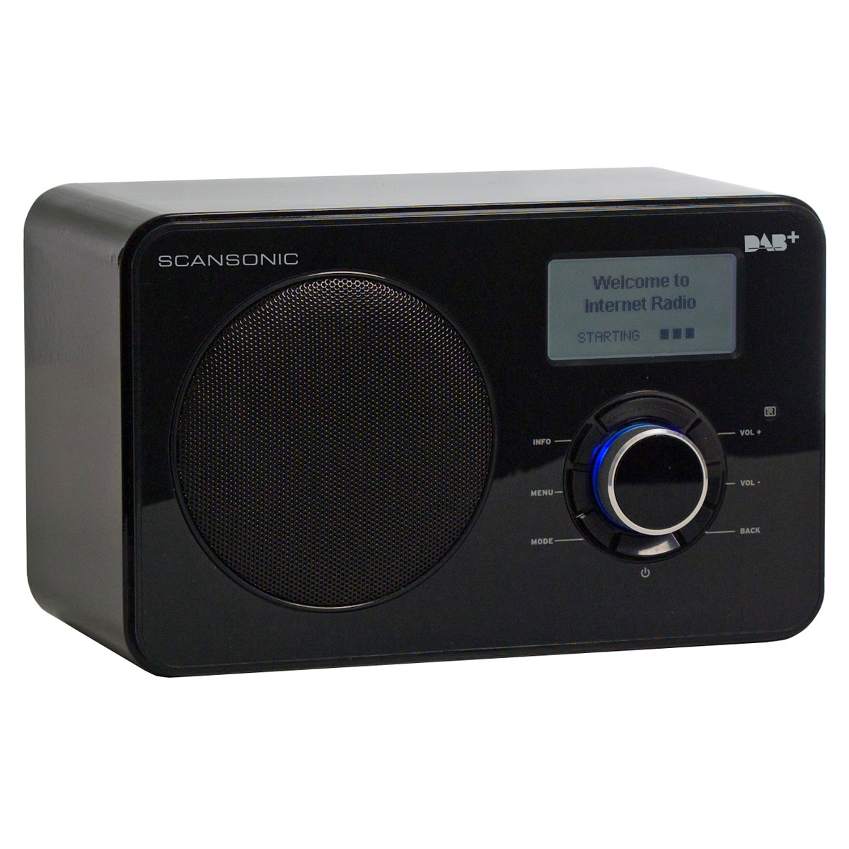 scansonic in220bt noir radio radio r veil scansonic sur. Black Bedroom Furniture Sets. Home Design Ideas