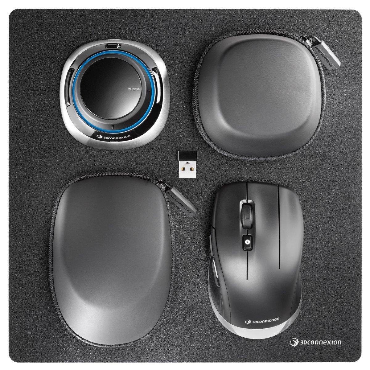 3dconnexion spacemouse wireless kit souris pc 3dconnexion sur. Black Bedroom Furniture Sets. Home Design Ideas