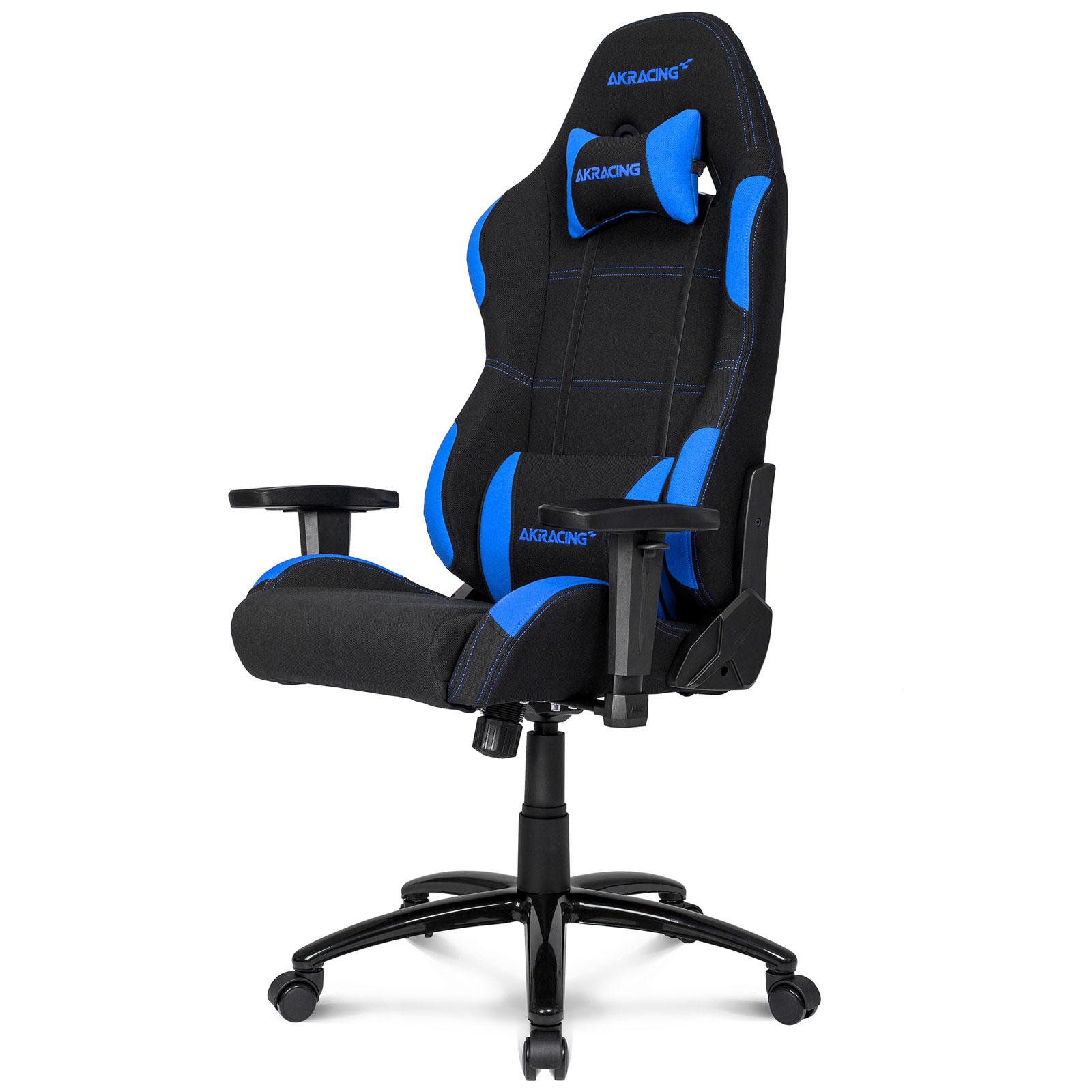 akracing gaming chair bleu fauteuil gamer akracing sur. Black Bedroom Furniture Sets. Home Design Ideas