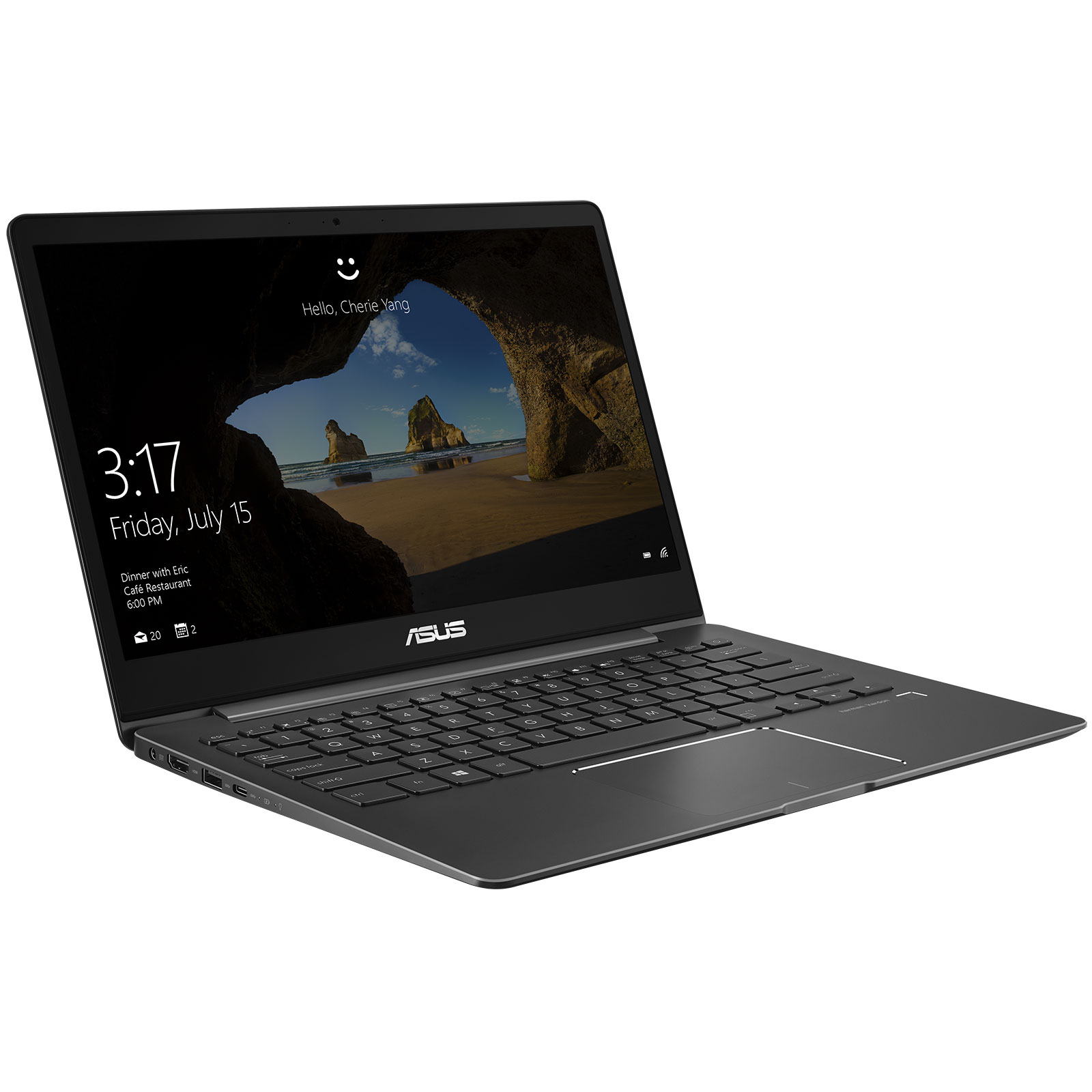 asus zenbook 13 ux331ua eg011rb pc portable asus sur. Black Bedroom Furniture Sets. Home Design Ideas