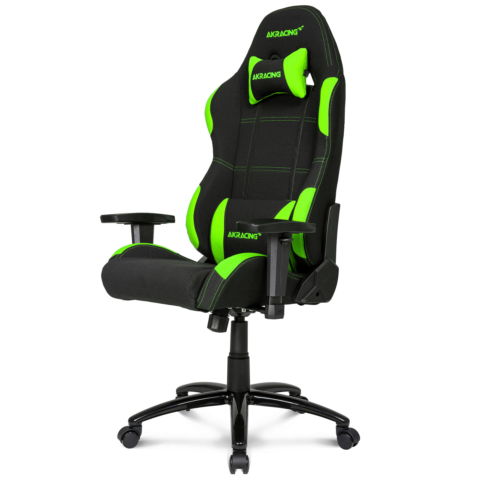 akracing gaming chair vert fauteuil gamer akracing sur. Black Bedroom Furniture Sets. Home Design Ideas