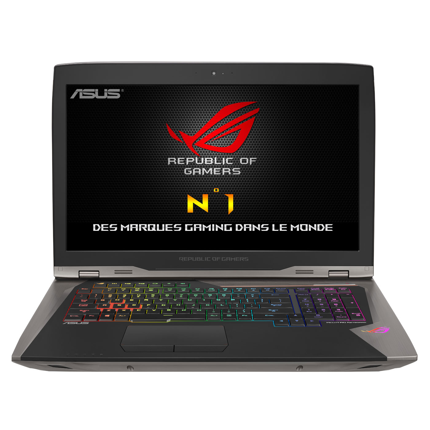 asus rog gx800vh gy004t avec dock watercooling pc portable asus sur. Black Bedroom Furniture Sets. Home Design Ideas