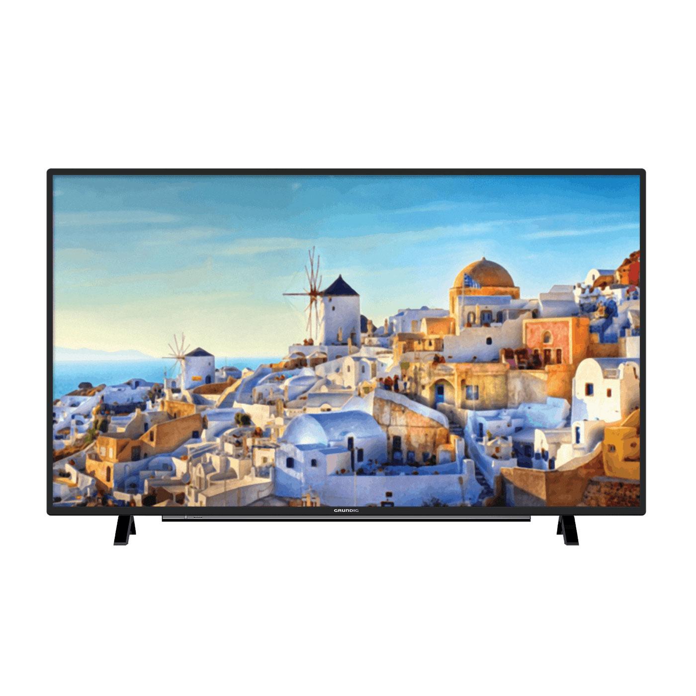 "TV Grundig 32VLE6730BP Téléviseur LED Full HD 32"" (81 cm) 16/9 - 1920 x 1080 pixels - HDTV 1080p - Wi-Fi - Bluetooth - DLNA - 800 Hz - Haut-parleurs en façade"