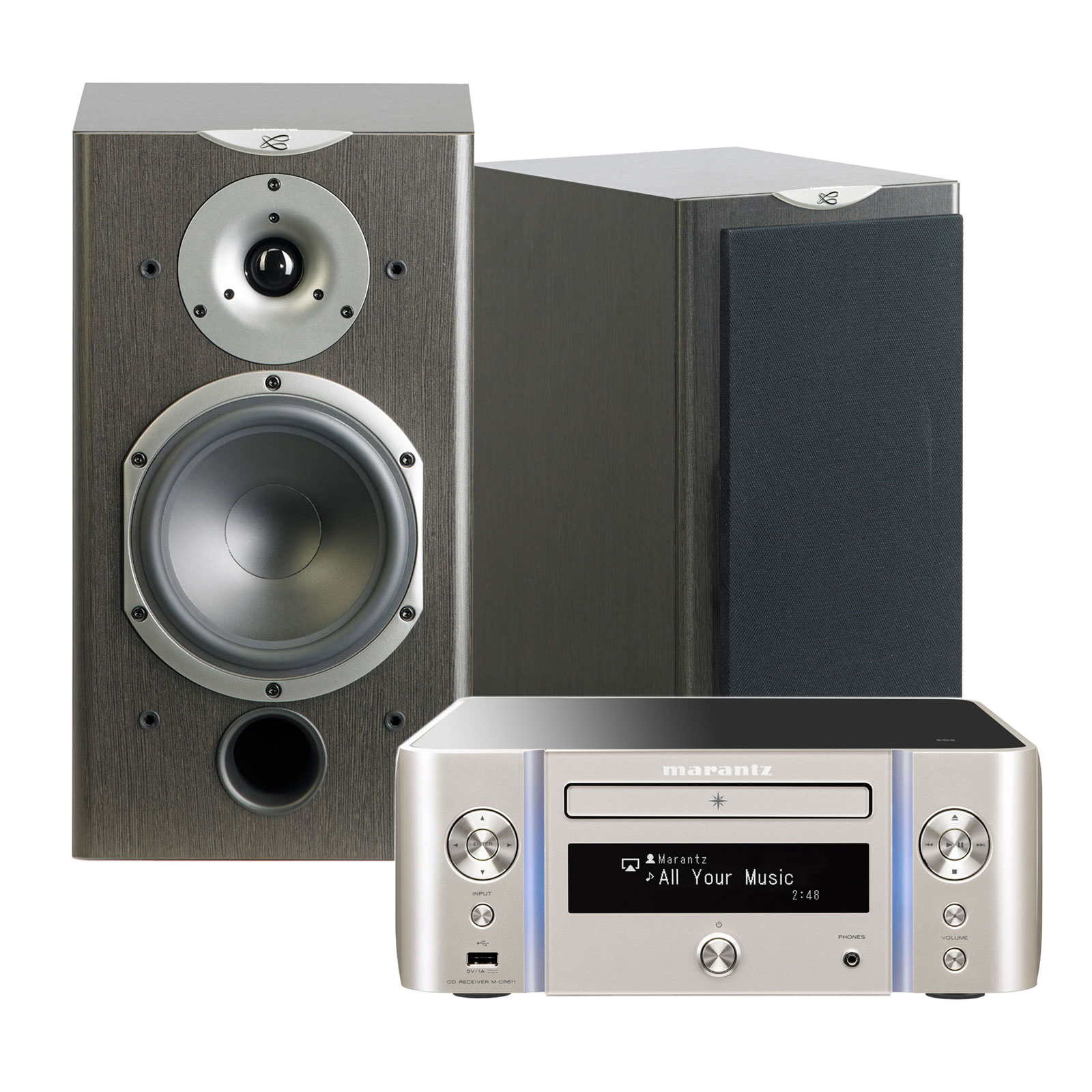 marantz melody stream m cr611 argent or cabasse antigua mt360 wengu cha ne hifi marantz sur. Black Bedroom Furniture Sets. Home Design Ideas