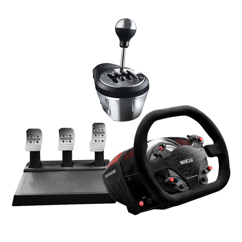 thrustmaster ts xw racer sparco th8 add on shifter offert volant pc thrustmaster sur. Black Bedroom Furniture Sets. Home Design Ideas