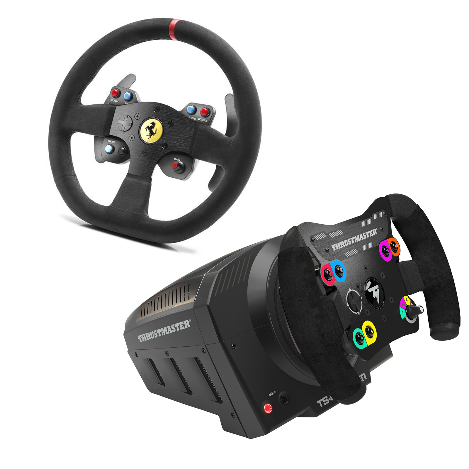 thrustmaster ts pc racer 599xx evo 30 wheel add on alcantara edition offert volant pc. Black Bedroom Furniture Sets. Home Design Ideas