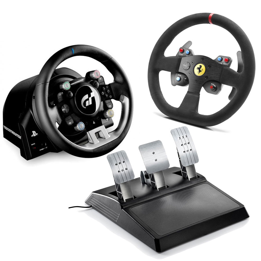 thrustmaster t gt thrustmaster 599xx evo 30 wheel add on alcantara edition volant pc. Black Bedroom Furniture Sets. Home Design Ideas
