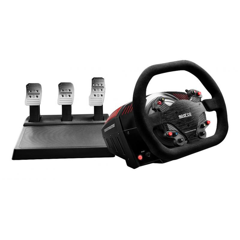 thrustmaster ts xw racer sparco volant pc thrustmaster sur. Black Bedroom Furniture Sets. Home Design Ideas