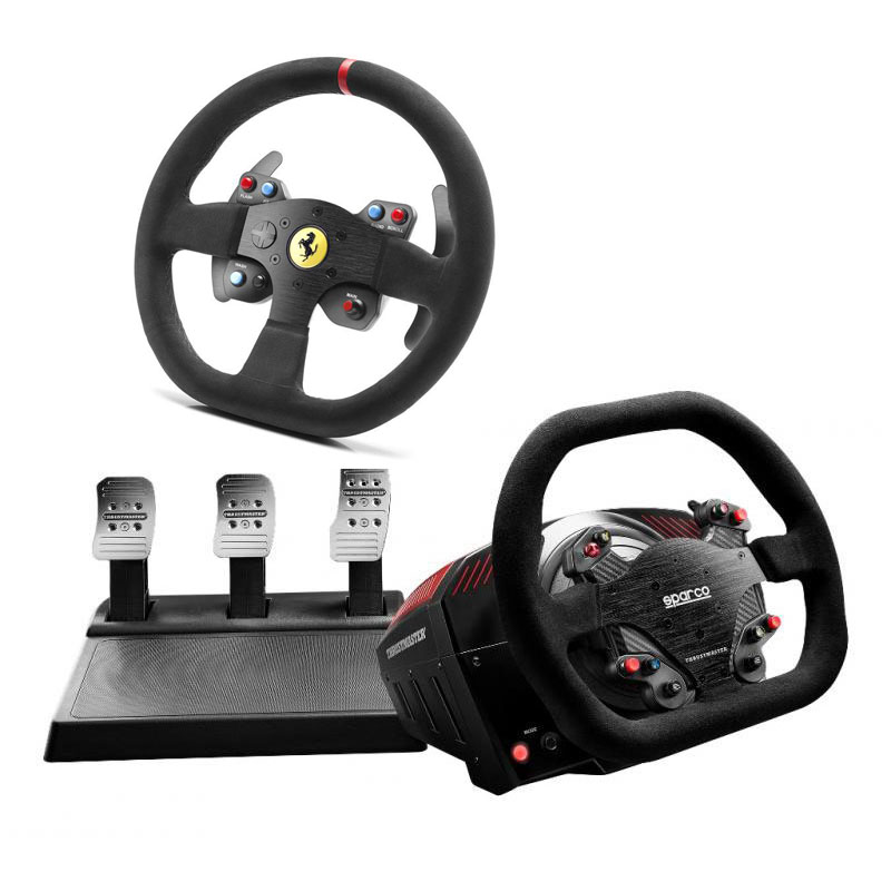 thrustmaster ts xw racer sparco 599xx evo 30 wheel add on alcantara edition offert volant. Black Bedroom Furniture Sets. Home Design Ideas