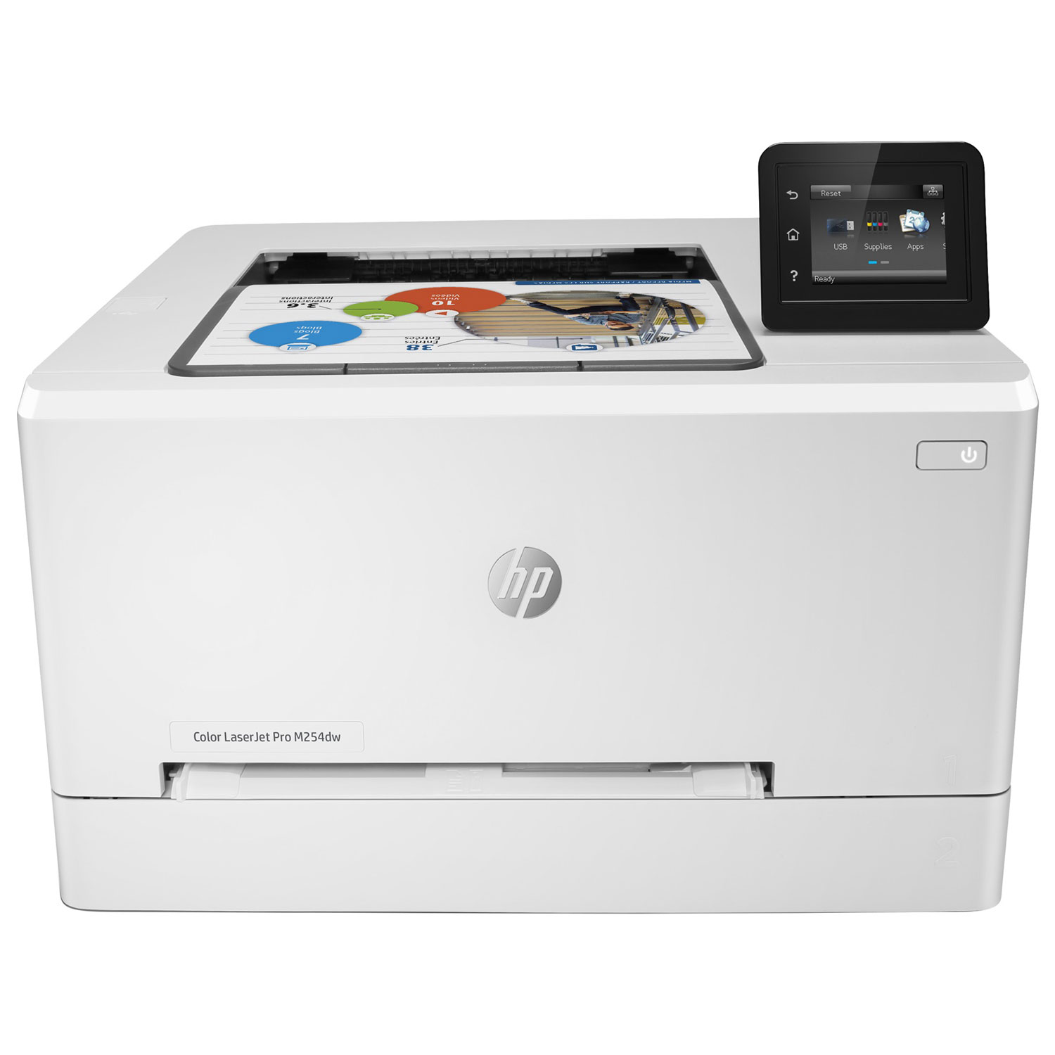 hp color laserjet pro m254dw imprimante laser hp sur. Black Bedroom Furniture Sets. Home Design Ideas