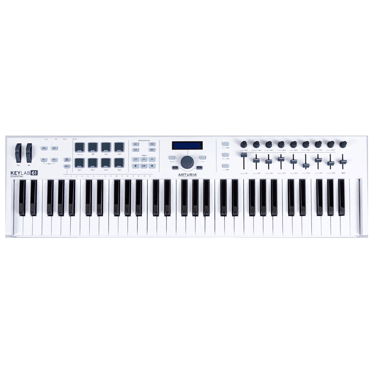 arturia keylab essential 61 clavier home studio arturia sur. Black Bedroom Furniture Sets. Home Design Ideas