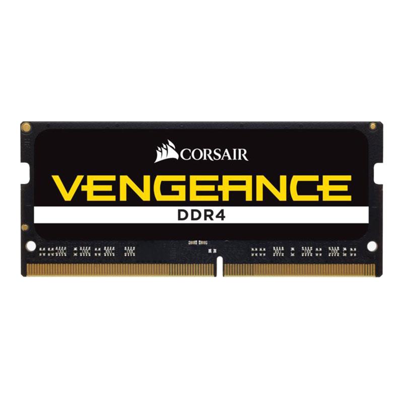 Mémoire PC Corsair Vengeance SO-DIMM DDR4 8 Go 2400 MHz CL16 RAM DDR4 PC4-19200 - CMSX8GX4M1A2400C16 (garantie 10 ans par Corsair)