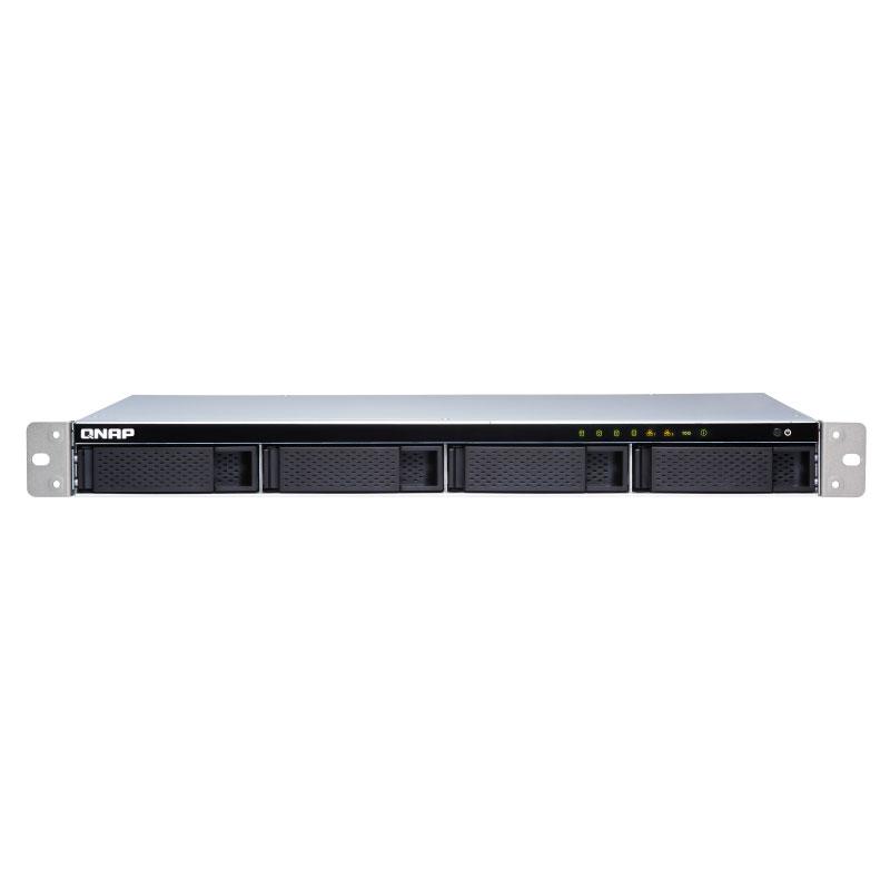 Serveur NAS QNAP TS-431XeU-2G Serveur NAS professionnel 4 baies (sans disque dur) avec 2 Go de RAM et processeur Alpine AL-314 Quad-Core 1.7 GHz
