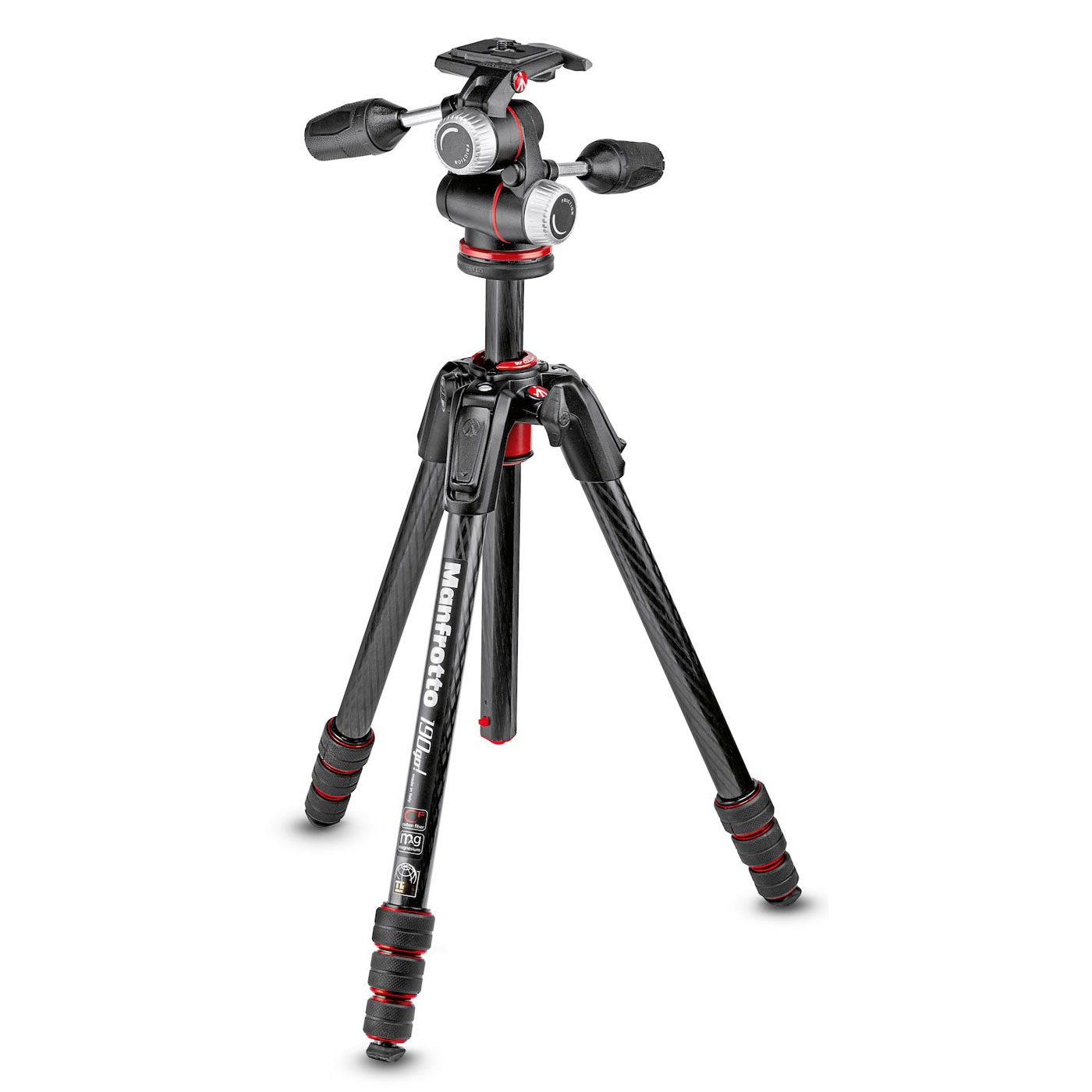 manfrotto 190go mk190goc4 3wx tr pied appareil photo. Black Bedroom Furniture Sets. Home Design Ideas