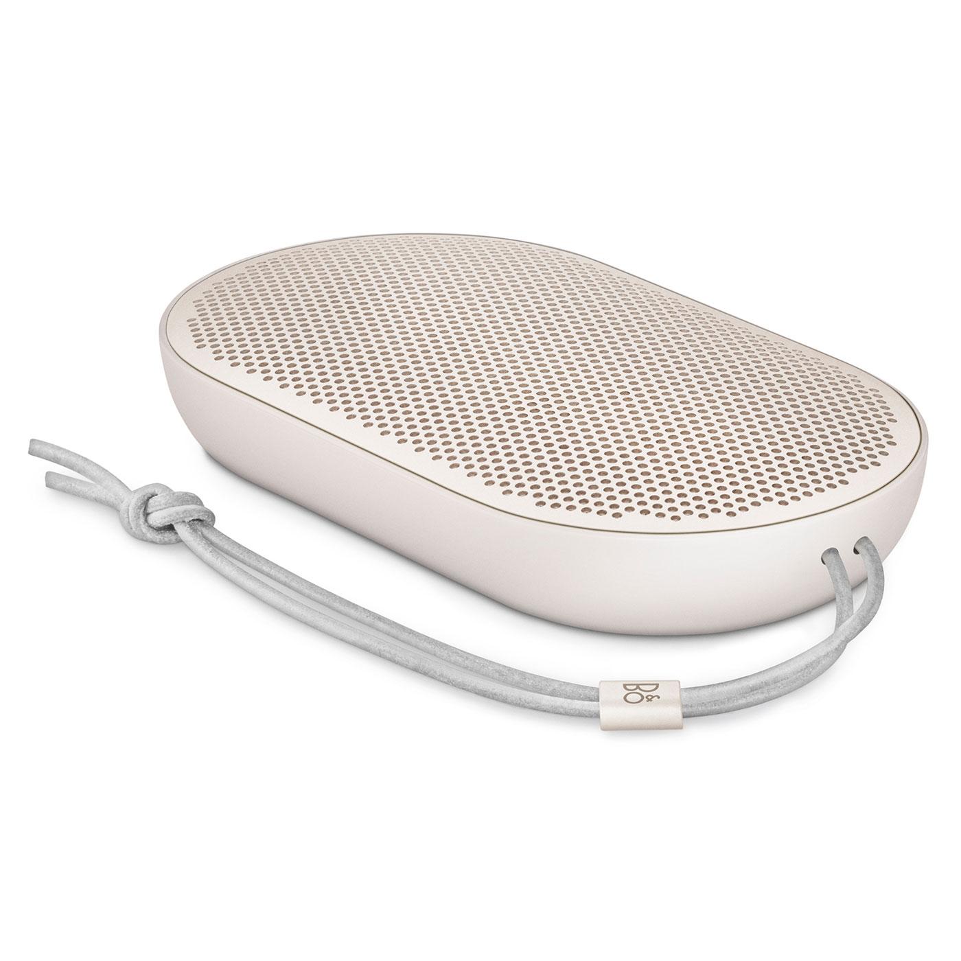 Dock & Enceinte Bluetooth Bang & Olufsen Beoplay P2 Sand Stone Enceinte portable Bluetooth 2 x 15W avec micro intégré