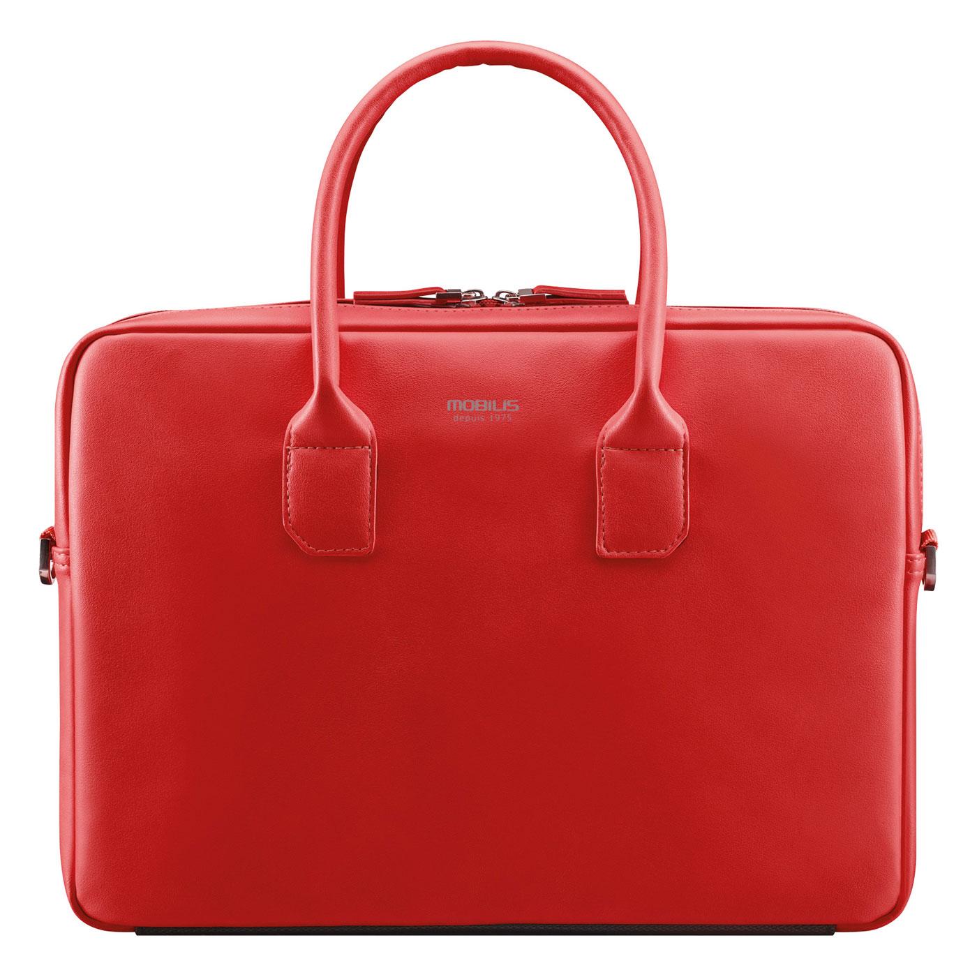 mobilis origine briefcase 14 16 rouge sac sacoche housse mobilis sur. Black Bedroom Furniture Sets. Home Design Ideas